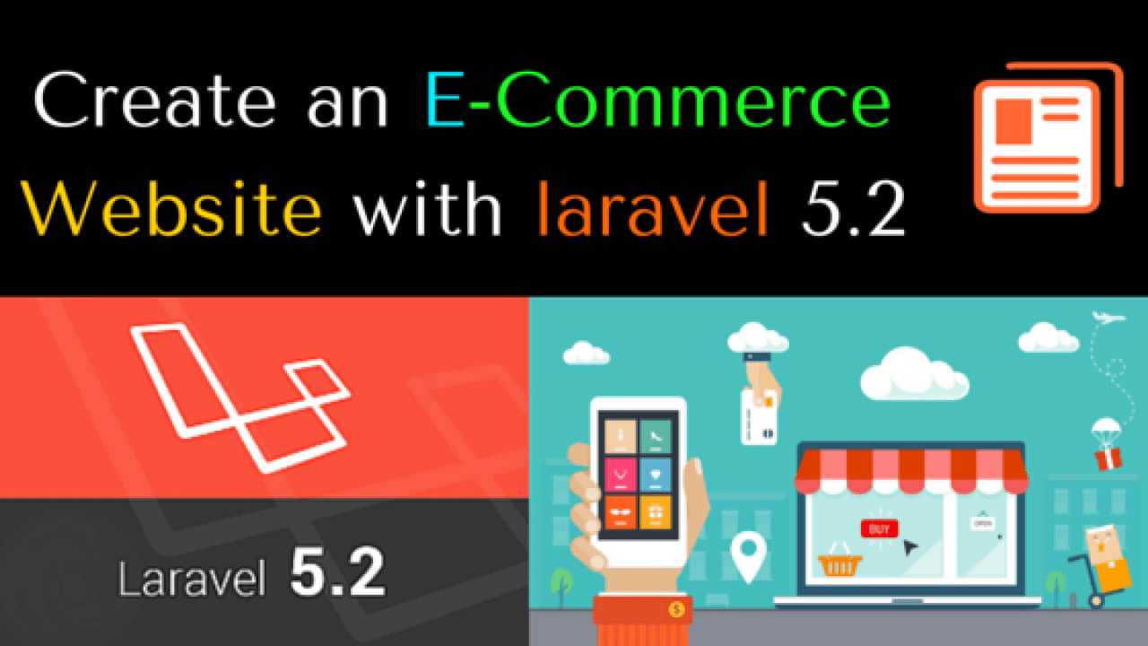Create an E-Commerce Website with laravel 5 2 | Page 3 of 6