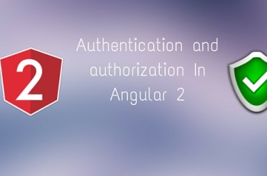 Authentication and authorization In Angular 2