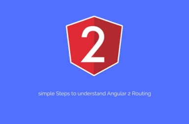 simple Steps to understand Angular 2 Routing