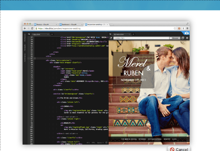 cloud 9 php ide