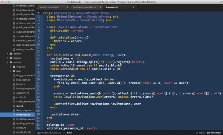 Ruby IDE
