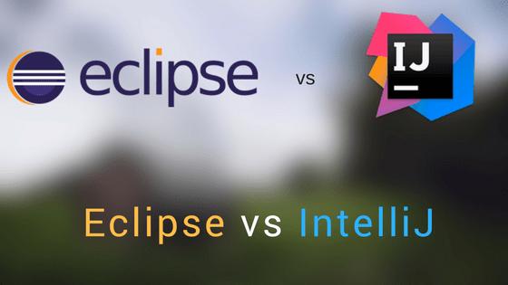 Intellij vs eclipse