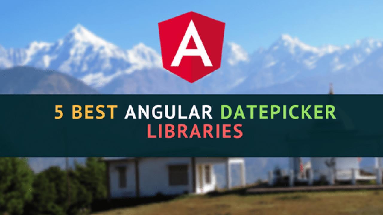 5 best Angular Datepicker Libraries   Dunebook