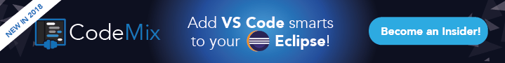 Develop React and Vue Apps in Eclipse using CodeMix