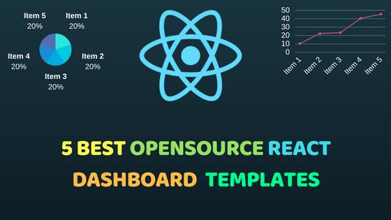 5 Best Opensource React Dashboard Templates
