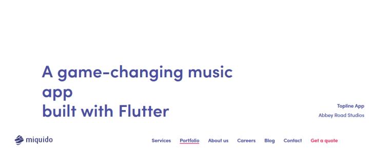 Flutter examples