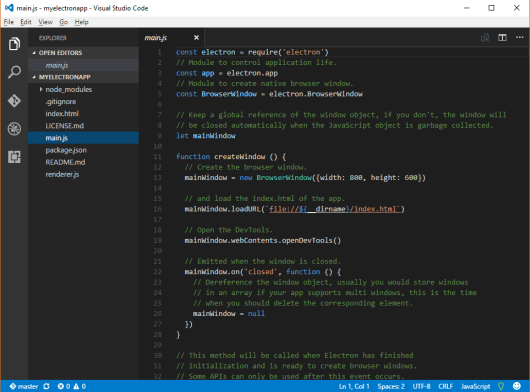 Electron IDE Vscode