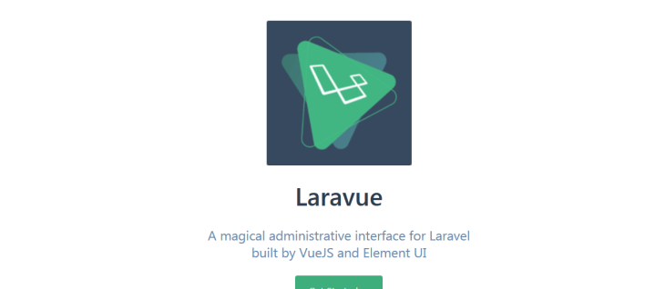 LaraVue Laravel admin panel