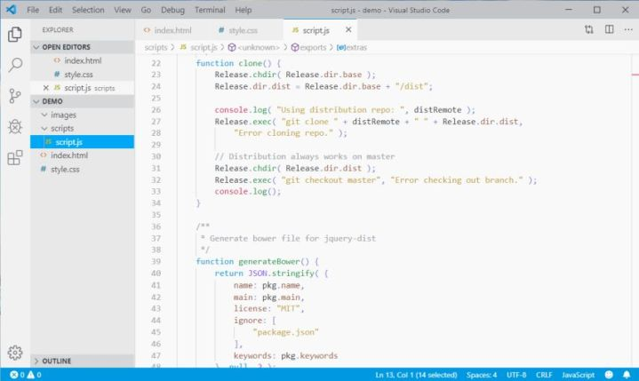 blucoco visual studio code theme