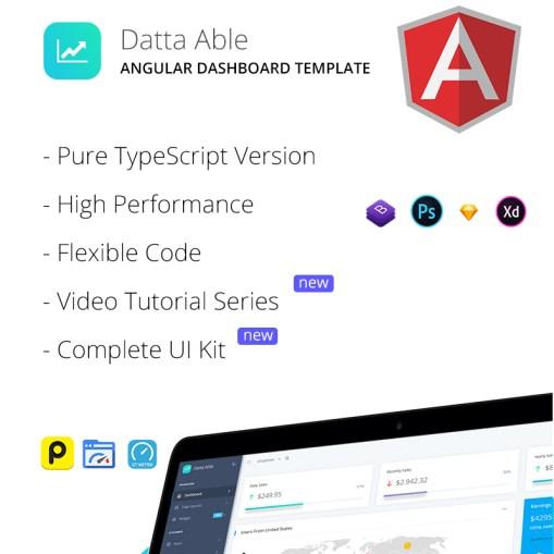 Datta Able Angular 7 Admin Template