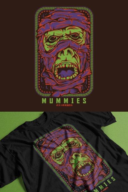 Mummies T-shirt