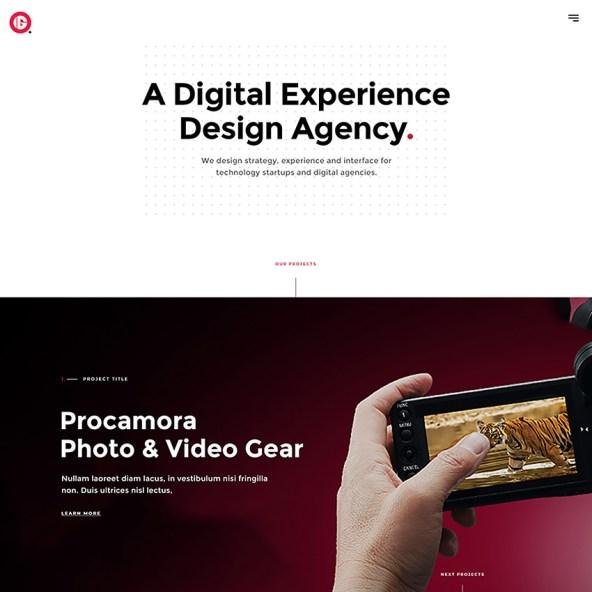 Innota Agency - PSD Template