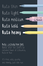 Hand-drawn Fonts