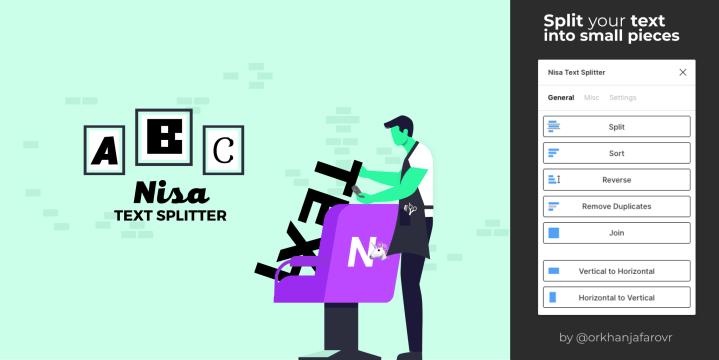Nisa Text Splitter