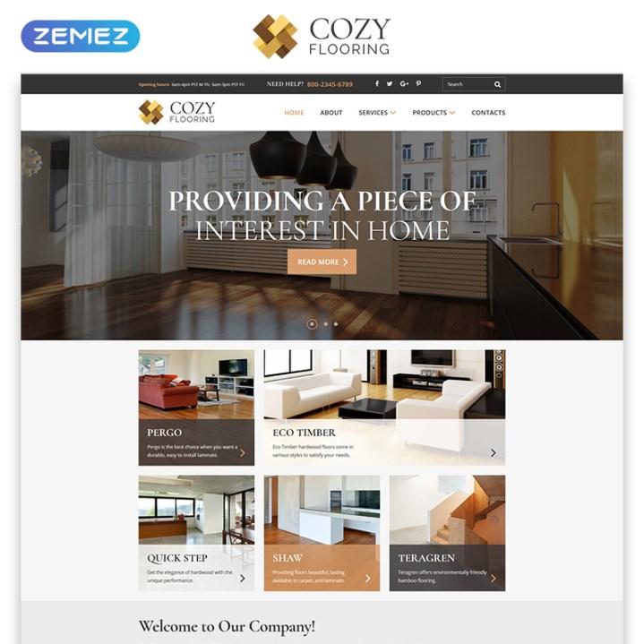COZY Responsive HTML Template
