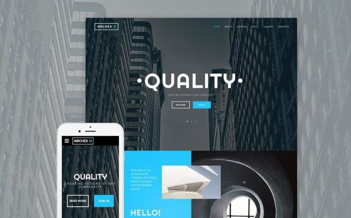 Construction Website Templates