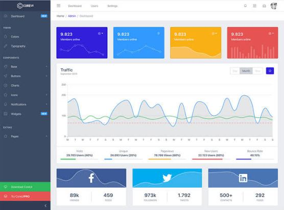 Bootstrap UI kit