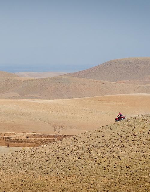 Agafay Desert - Marrakech - Morocco #dunesdesert