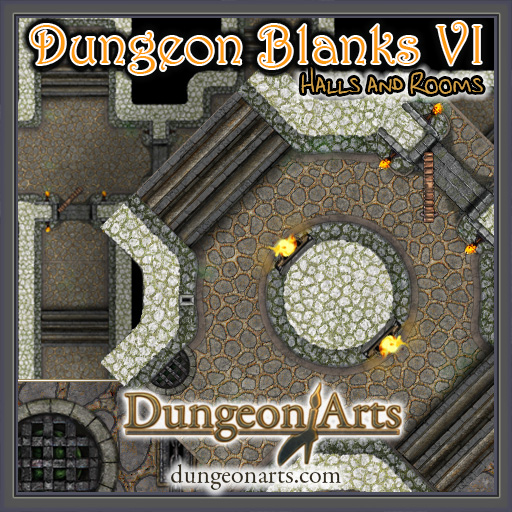 Dungeon Blanks VI