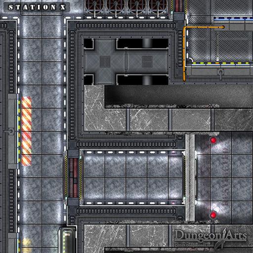 Station X Sci- Fi mini map