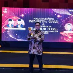 Kontribusi pada Penanggulangan Bencana, JOB Tomori Raih Padmamitra Award