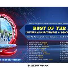 Pertamina EP Raih Best of The Best UIIA 2020