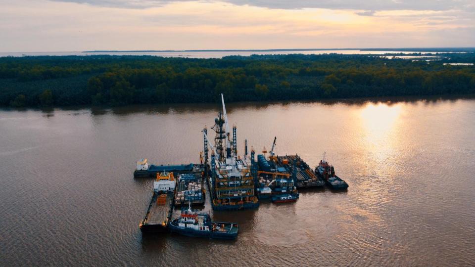 HWU Drilling EHR 12 Elnusa Dukung Pengeboran Sumur Baru Blok Mahakam