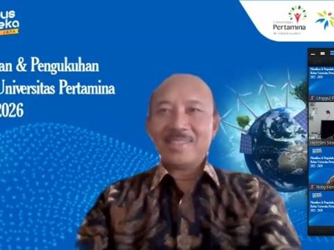 Siapkan World Class University di Bidang Energi, Mantan Dirjen Migas Jadi Rektor Universitas Pertamina