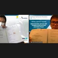 PLN Enjiniring Lakukan Studi Sistem Evakuasi Listrik PLTA Mentarang