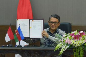 Indonesia-Azerbaijan Agree to Increase Cooperation in the Oil and Gas Sector and New and Renewable Energy