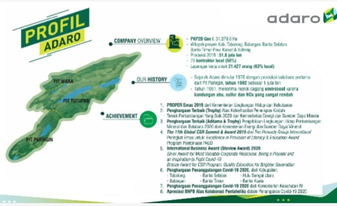 Target Pertahankan PROPER Emas, Ini Inovasi Sosial dan Lingkungan Adaro Energy