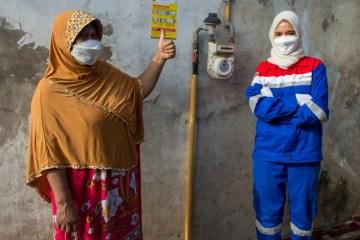 Pertagas Niaga Tambah 1.070 Sambungan Gas Rumah Tangga di Sidoarjo