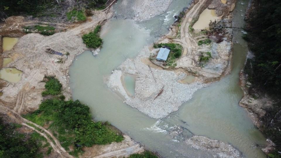 KLHK Tetapkan Pemodal Aktivitas Tambang Emas Ilegal di Hutan Lindung Sebagai Tersangka