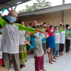 Pertagas Operation East Java Area Perangi Gizi Buruk di Ponpes Metal
