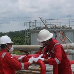 Elnusa Dukung Pembangunan New Semberah Oil Plant Sangatta Field