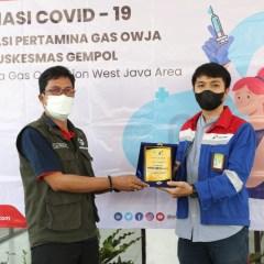 Pertagas Gelar Vaksinasi Bersama di Jawa Barat dan Jawa Timur