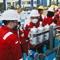 Elnusa Bersama PGE Laksanakan Factory Acceptance Test Manufaktur Prototype Teknologi Panas Bumi