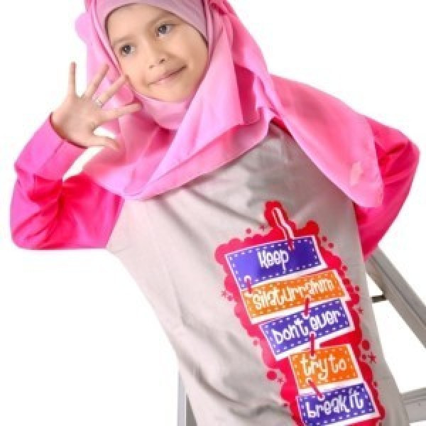 Kaos Anak Muslim Syamsakids