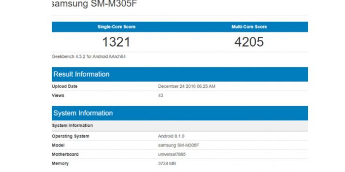 Spesifikasi Samsung Galaxy M