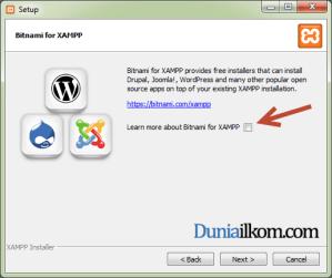 Cara Menginstall XAMPP di Windows - Pilihan untuk Bitnami