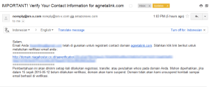Email Konfirmasi Whois Data