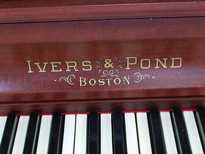 Ivers  Pond Upright Piano  Dunkley Music