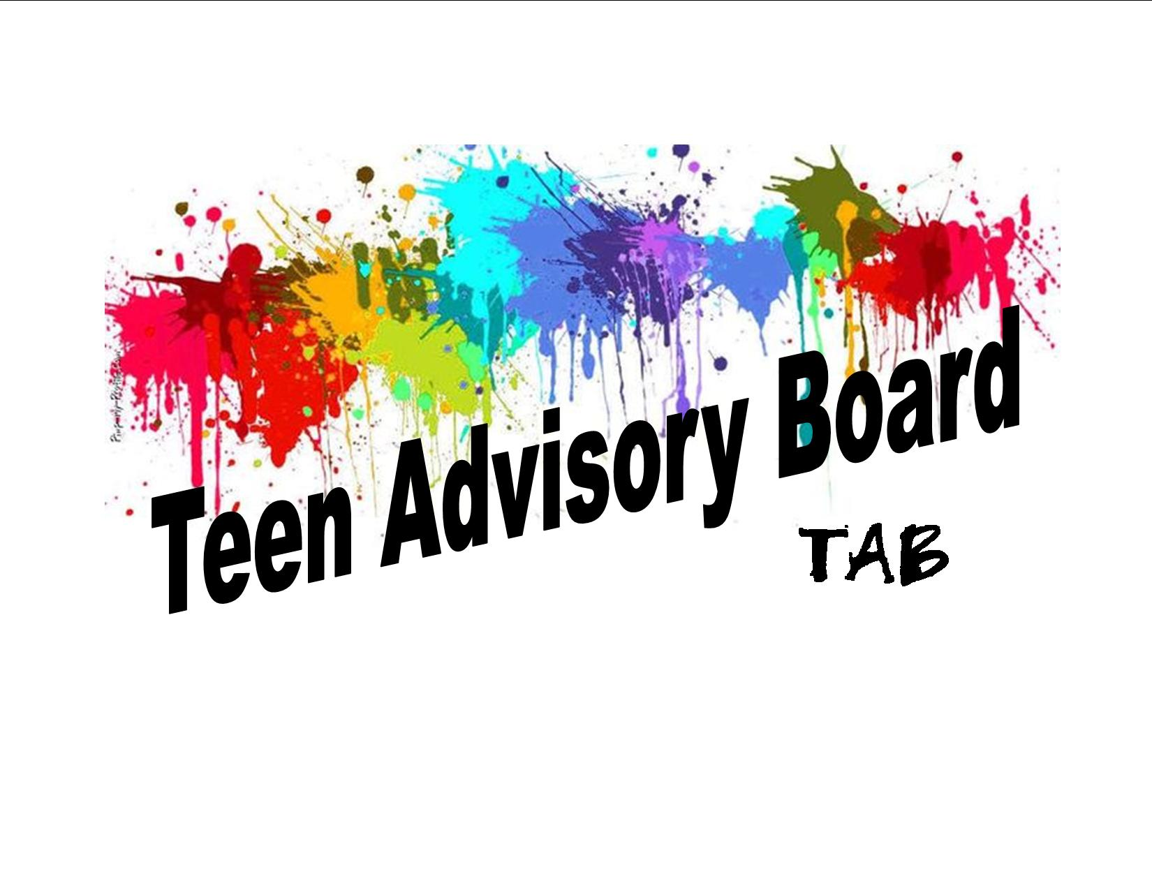 TAB (Teen Advisory Board) Meeting Thursday, April 12, 6:00 pm ...