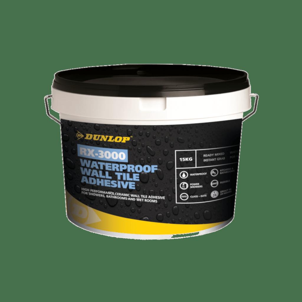 rx 3000 waterproof wall tile adhesive