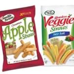 apple and veggie straws