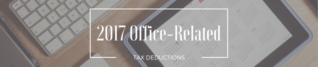 Office product tax deductions 2017