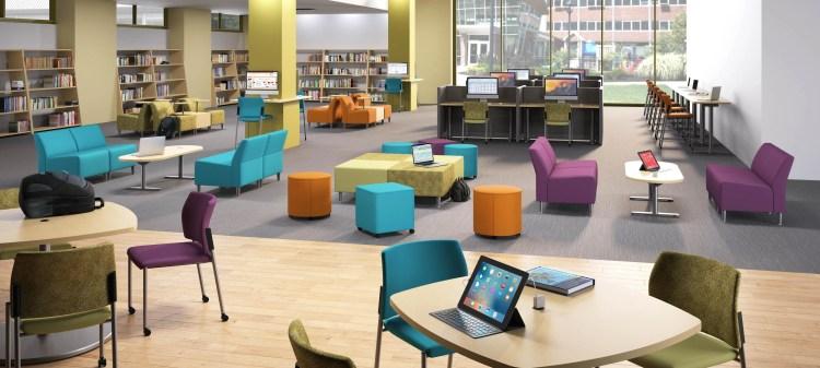 colorful furniture trend