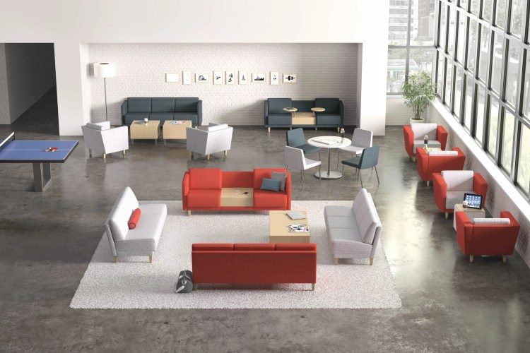 colorful office furniture