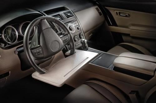 steering wheel table top