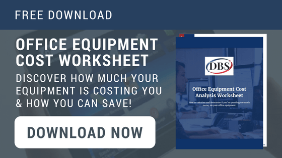 office equipment cost worksheet